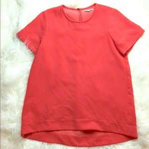 Madewell coral top sz S